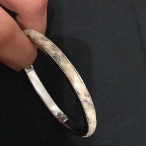Henri Bendel petite snake print bangle